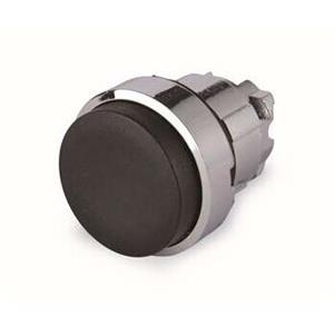 施耐德电气 ZB4BL2 金属按钮头 黑色 凸头