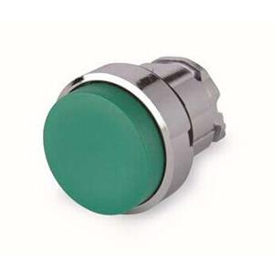 施耐德电气 ZB4BL3 金属按钮头 绿色 凸头