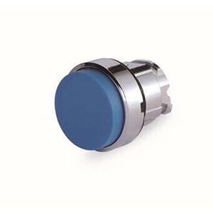 施耐德电气 ZB4BL6 金属按钮头 蓝色 凸头