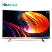 海信 HZ55U8AC 4K智能曲面电视 55英寸 摩卡金