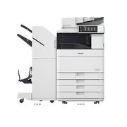 佳能 iR-ADV C5535 彩色中速数码复印机+鞍式装订组件+四纸盒+传真 A3 白色
