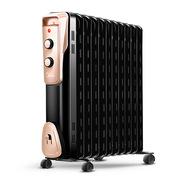 美的 NY2011-16JW 油汀取暖器 535*280*640MM 黑色