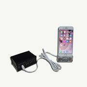 展智宝 MD080 手机防盗器  黑色  一拖四 支持安卓 TYPE-C 苹果充电接口