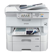 爱普生 WF-8593 部门级彩色商用墨仓式数码复合机 标配再加单纸盒 A3 银白色