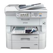 爱普生 WF-8593 部门级彩色商用墨仓式数码复合机 标配再加双纸盒加工作台 A3 银白色