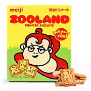 明治  明治动物乐园饼干 6盒/箱 金黄色