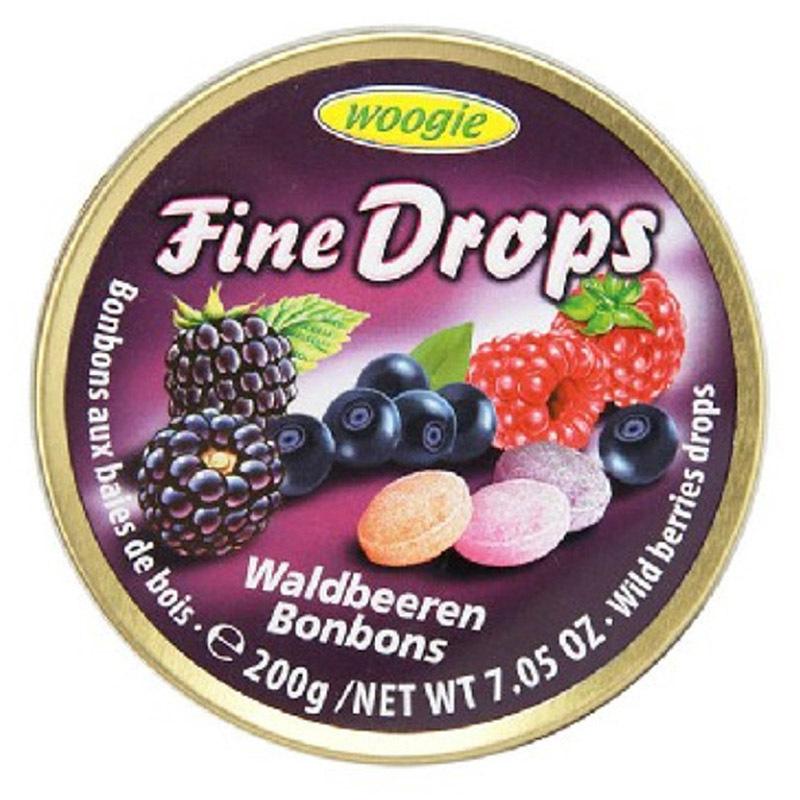 woogie  woogie野莓味糖果 3罐/组 樱桃红色