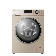 海尔 G100629BKX12G 10.0公斤蓝晶变频滚筒洗衣机 10kg 金色