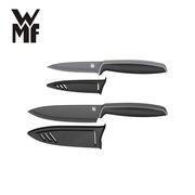 福騰寶 18.7908.6100 德國 WMF 黑色廚房刀具2件套  黑色
