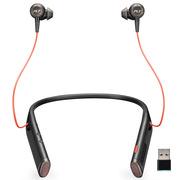 缤特力 Voyager 6200 UC 无线入耳颈挂式立体声蓝牙耳机耳麦/人工智能/主动降噪  黑色