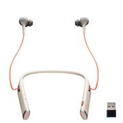 缤特力 Voyager 6200 UC 无线蓝牙耳机/耳塞式降噪耳麦/手机通话/  米白色