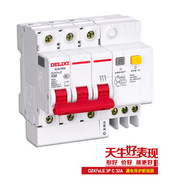 德力西电气 DZ47SLEN3C63 微型漏电保护断路器,DZ47sLE 3P C63A