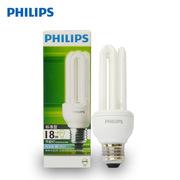 飞利浦 ESSENTIAL 18W 标准型普通照明用自镇流荧光灯 12pcs/箱 白炽色 E27 3U