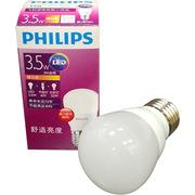 飛利浦 BPZ350 恒亮型小球泡 12pcs/箱 暖白光 3.5W E27 220V 50HZ 350Lm 35mA  CRI80