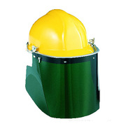 霍尼韋爾 1002330 防沖擊面罩 均碼 葉綠色 10副/盒 防沖擊