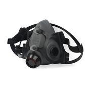 霍尼韋爾 770030L 雙濾毒盒硅膠半面罩 大號 黑色 1只/盒 呼吸防護