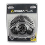 代爾塔 105009 大碼單濾盒半面罩 M6100 灰黑色 15個/箱 呼吸防護