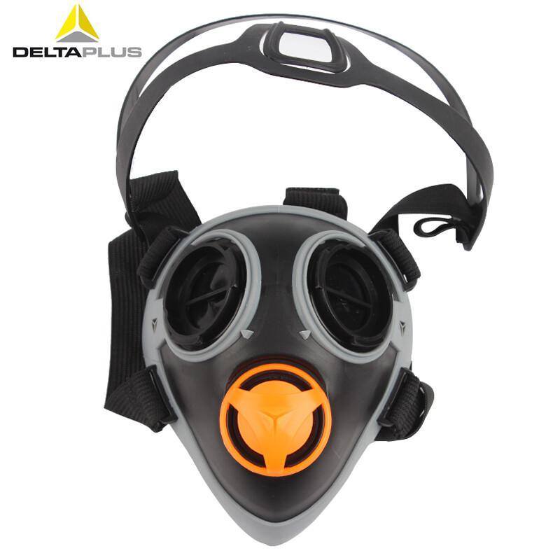 代爾塔 105014 雙濾盒半面罩 M6400 黑色 20個/箱 呼吸防護