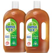 滴露  抑菌倍護 兩件套 白色  消毒液1.15L*2瓶+滋潤倍護香皂115g*3塊裝