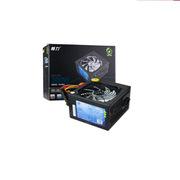 江西恒力 QC400S 宽幅PFC台式机电源 主板额定300W 黑色