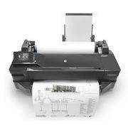 惠普 T120 24英寸大幅面打印機 A1 黑色  網絡接口 無線wifi USB2.0 內存:256M