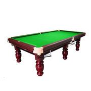 腾勃  台球桌家用美式桌黑八桌球台标准成人乒乓球桌 二合一
