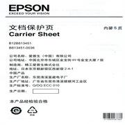 愛普生 B12B3451 文檔保護頁  透明色 套