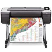 惠普 1VD86A BO+ 幅面繪圖儀 DesignJet T1708dr PS系列 44英寸 黑色  單面/打印/復印