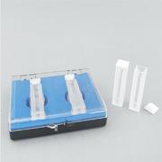 探索精选 02036769 白璧带盖石英比色皿 12.5*12.5*45  2个/盒 光路宽3mm