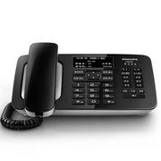 飛利浦 CORD495 電話機 黑色