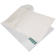 千页百汇 A4横版1mm压纹白卡 热熔封套  白色