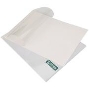 千页百汇 A4横版2mm压纹白卡 热熔封套  白色