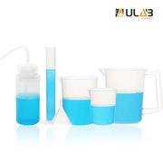 友樂博 UBP1009 塑料量筒 燒杯 漏斗 廣口洗瓶六件套   6件/套 4袋/箱