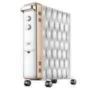 先鋒 DS1552 電熱油?。崂耍┤∨?2片 800/1200/2000W 白色