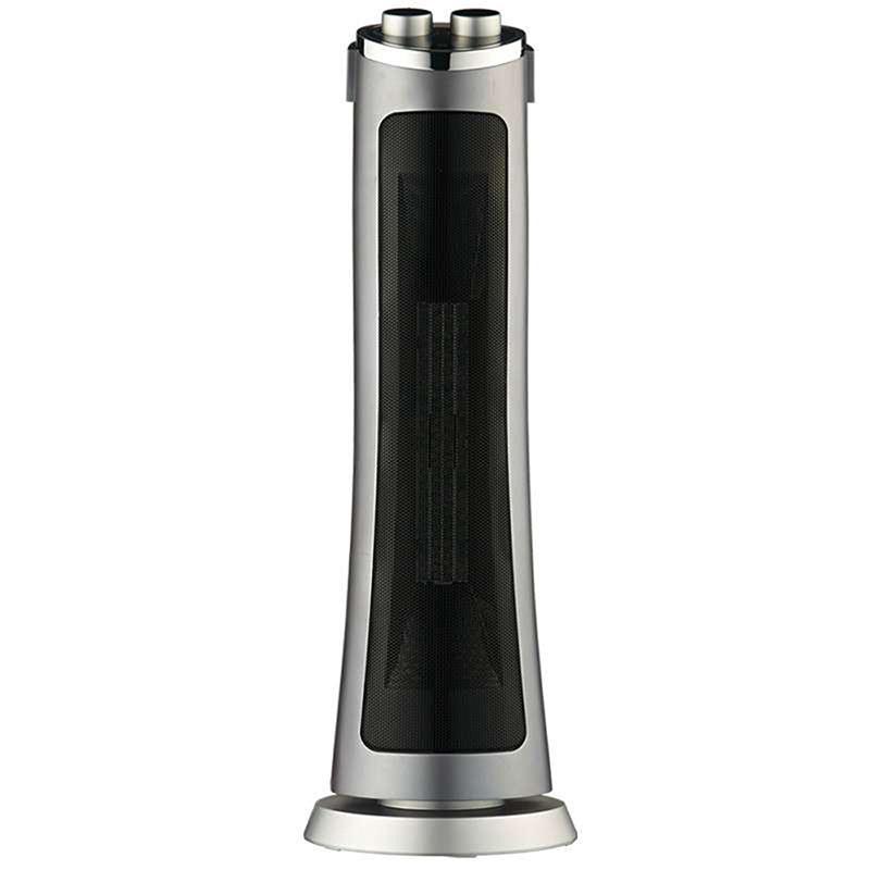 先鋒 DQ3318 暖風機取暖器 立式搖頭取暖器塔式取暖器 2檔 1000/2000w 黑色