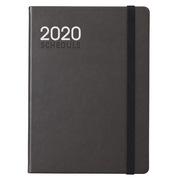 齐心 C8004 PU面年历本(2020年) A5 178张 黑色