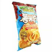 旺旺  薯米片(德克萨斯烤肉) 35g*60袋   整箱销售