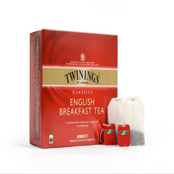 川宁  英国早餐红茶 办公款 2g*100片/盒