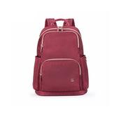 卡拉羊 CX5018(claret) 电脑背包 适用于14英寸及以下 酒红色  可插拉杆箱