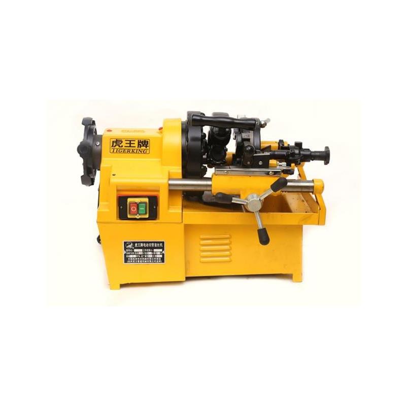 虎王 電動套絲機多功能2寸3寸4寸螺紋套絲機大功率消防管絞絲機,SQ80D1