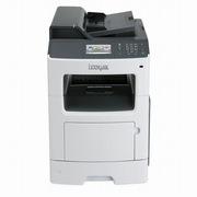 利盟 MX410DE A4黑白激光多功能机    彩色扫描、传真,网络扫描、双面打印复印