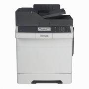 利盟 CX410DE A4彩色激光多功能机    彩色扫描、双面复印、传真、双面打印