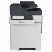 利盟 CX510DHE A4彩色激光多功能机    彩色扫描、双面复印、传真、双面打印