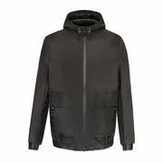 季德納  男式連帽夾克外套 (全套碼數,按量身)   聚酯纖維
