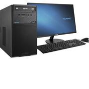 華碩 D320MT 臺式電腦 VZ27AQI58G1T+128GSSDW7旗艦版5Y