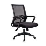 国产 RWY-BZ17 职员椅 中背 黑色  五星脚椅