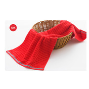 潔玉  毛巾JY-1501F DZ:72*34cm/95g 紅色