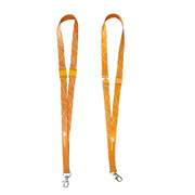 華為 工牌掛繩(華為定制) 1.5CM寬度 雙扣 橙色