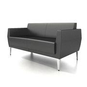 SA S633.2.WP 双人位沙发 1350*770*730*450   TP-PV10黑色