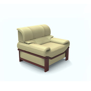 SA S305.1.WP 单人位沙发 1050*940*860*450   TP-PV10黑色